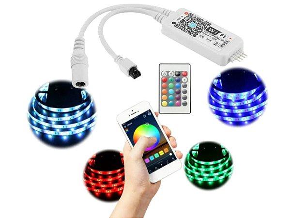 CONTROLADOR RGB DIGITAL WIFI 5-28V