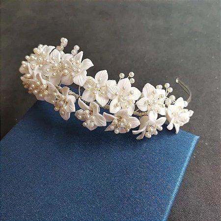 Tiara porcelana