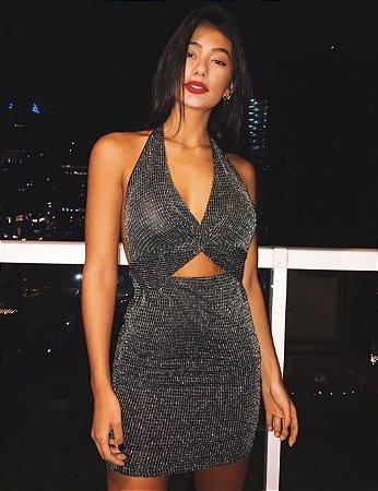 Vestido balada preto P