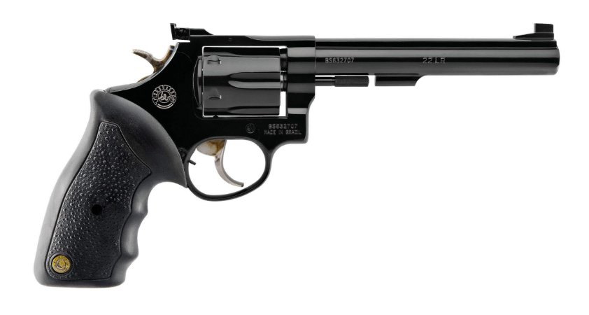Revolver Taurus 96 .22 LR 6 Tiros 6 Polegadas Oxidado