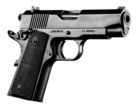 Pistola Imbel Modelo MD1N .380 9 Tiros Oxidada Fosco