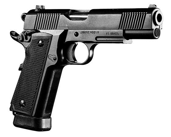 Pistola Imbel Modelo GC MD2 LX .380 17 Tiros com ACD Oxidada Fosco