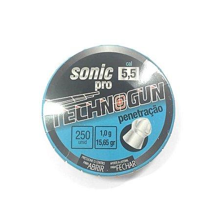 Chumbinho Technogun Sonic PRO 5.5mm 250un