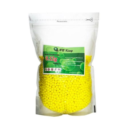 Esferas Plásticas BBs para Airsoft 6mm 0,12G 5000 UN BB King