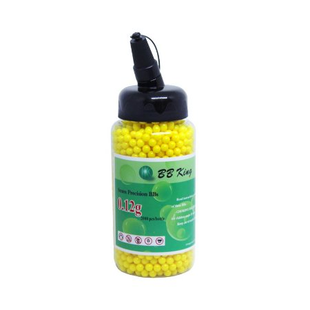 Esferas Plásticas BBs para Airsoft 6mm 0,12G 2000 UN BB King