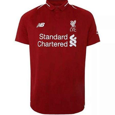 028751737a355 Camisa Liverpool S n Oficial Torcedor New Balance Masculina - Nova ...