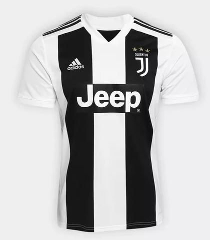 Camisa Juventus 18 19 S n Oficial Torcedor adidas Masculina - Nova ... 3a49000fd41a3