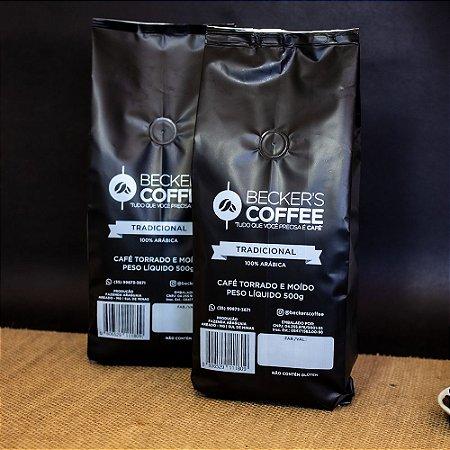 Café Clássico- Torrado e Moído - 2 kg