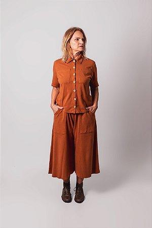 Camisa Montreal Caramelo