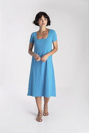Vestido Flórida azul