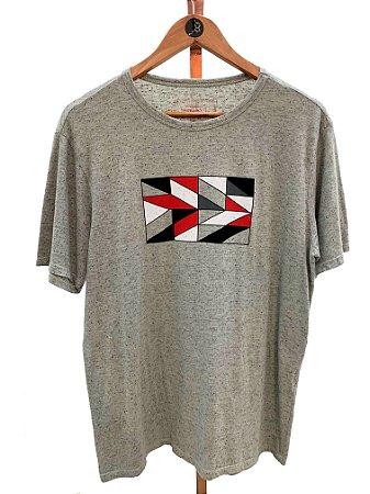T-shirt Retângulo botonê