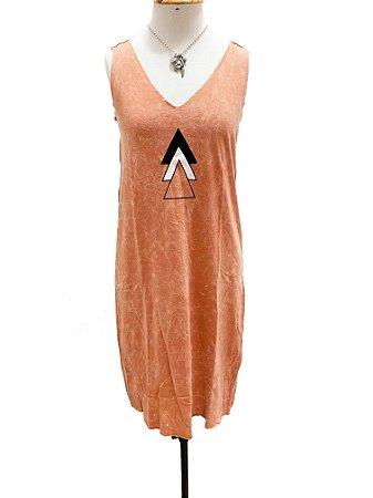 Vestido marmo triângulo