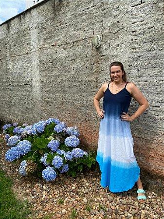 vestido sonho azul / aul claro