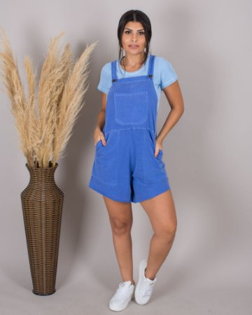 jardineira azul