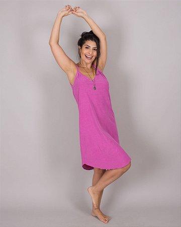 Vestido Itapema rosa stone