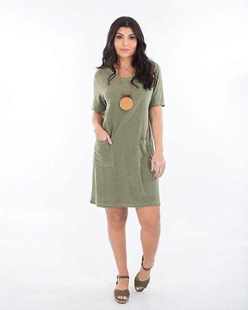 Vestido Amor verde