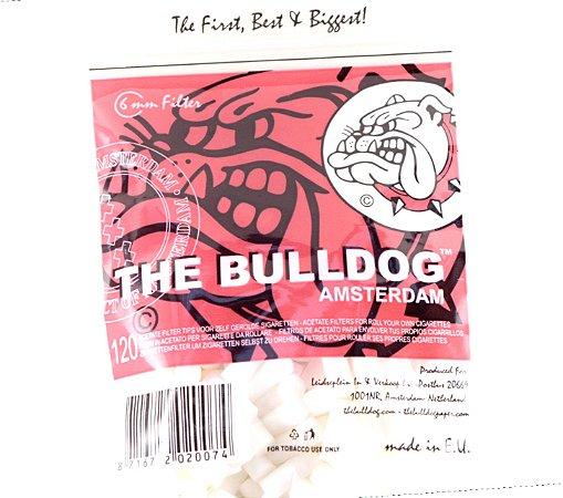 """""""PRÉ-VENDA"""" INICIO DOS ENVIOS EM +-45 DIAS ÚTEIS. Filtros de acetato Bulldog amsterdam 6mm com 120 unidades."""