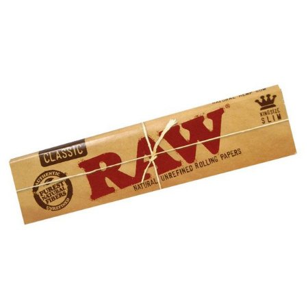 Seda Raw Classic King Size Slim Livreto com  32 folhas .
