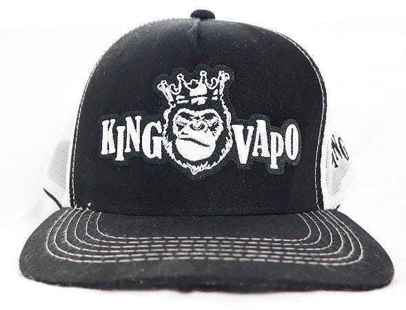 Boné KingVapo bordado
