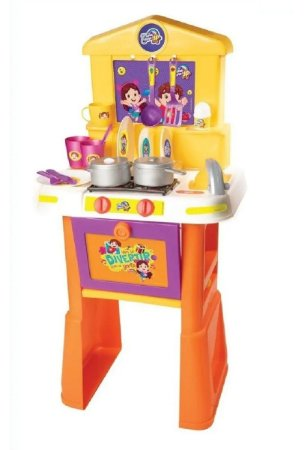 Cozinha com Acessórios (+3 anos) - Maria Clara e JP - Novabrink