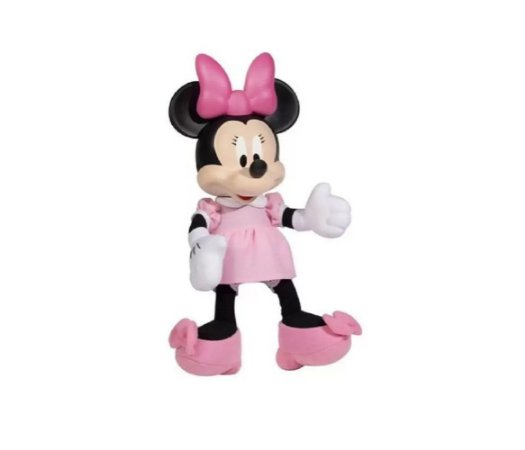 Boneco Fofinhos (+2 anos) - Minnie Baby - Disney - Novabrink