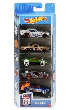 Conjunto de Carros Sports (+3 anos) - Hot Wheels - Mattel