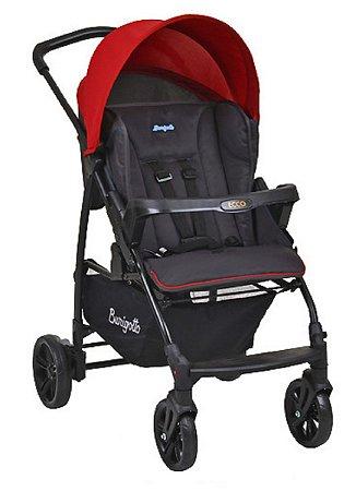 Carrinho de Bebê Ecco CZ (até 15 kg) - Vermelho - Burigotto