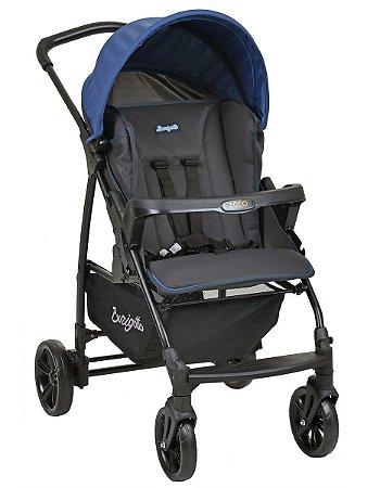 Carrinho de Bebê Ecco CZ (até 15 kg) - Azul - Burigotto