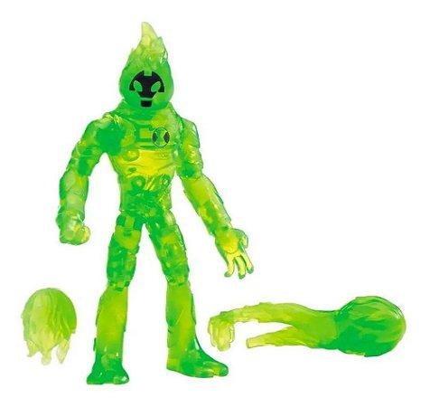 Ben 10 Figuras de Ação Chama Verde - Sunny Brinquedos