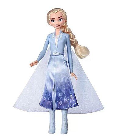 Boneca frozen 2 light up fashion sort Elsa - Hasbro