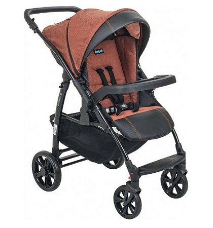 Carrinho de Bebê Primus K (até 15 kg) - Terracota - Burigotto