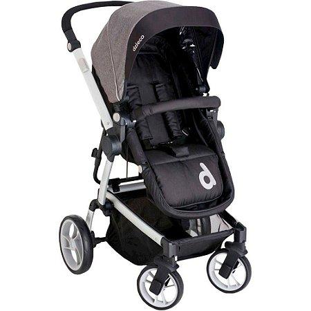 Carrinho de Bebê Zolly - Preto - Dzieco