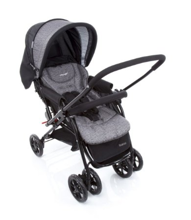 Carrinho de Bebê Status - Preto - Voyage