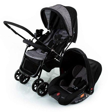 Carrinho de Bebê Travel System Status (até 15 kg) - Preto - Voyage