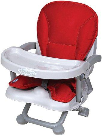 Assento Elevatório para Alimentação Zyce II (até 15 kg) - Vermelho - Dzieco