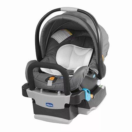 Bebê Conforto com Base Keyfit (até 13 kg) - Grafite - Chicco