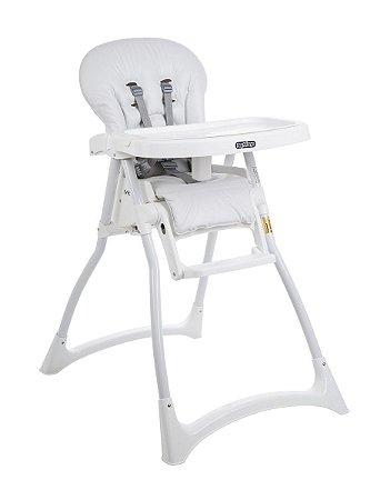 4d513f9bd7c3 Cadeira De Alimentação Merenda - Branca - Burigotto - www.alvesbaby ...