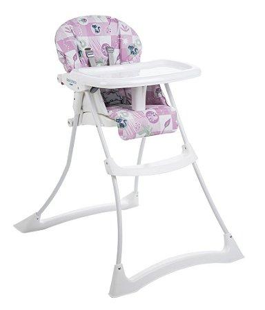 Cadeira de Alimentação Papa e Soneca (até 15 kg) - Peixinhos Rosa - Burigotto