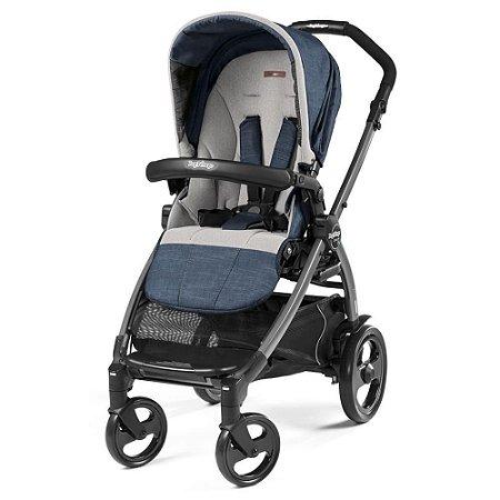 Carrinho de Bebê Book 51 Stroller (até 15 kg) - Urban Denim - Peg-Pérego