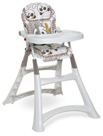 Cadeira Refeicao Alta Premium - Panda - Galzerano