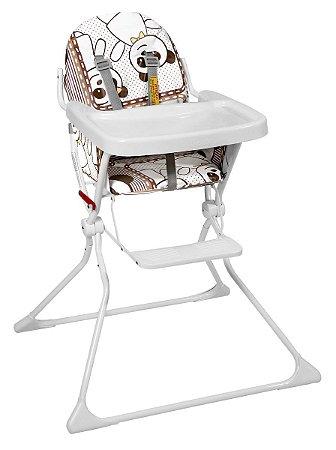 Cadeira De Refeição Alta Standard - Panda - Galzerano