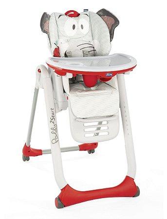 Cadeira De Alimentação Polly2start - B Elephant - Chicco