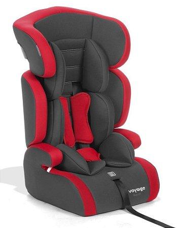 Cadeira para Auto Racer (até 36 kg) - Grafite e Vermelho - Voyage