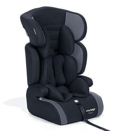 Cadeira para Carro Racer (até 36 kg) - Preto e Cinza - Voyage