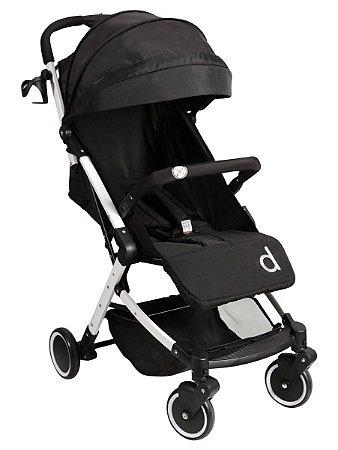 Carrinho de Bebê Izzy (até 15 kg) - Preto - Dzieco