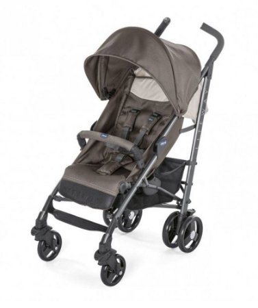 Carrinho de Bebê Lite Way 3 Basic (até 15 kg) - Dove Grey - Chicco