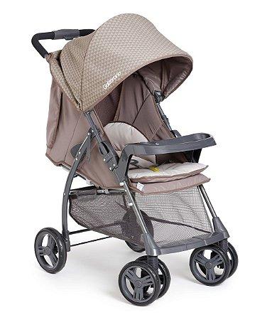 Carrinho de Bebê San Remo (até 15 kg) - Capuccino - Galzerano