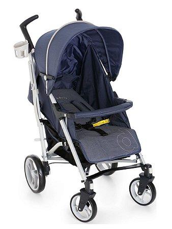 Carrinho Para Bebê Tatus - Jeans - Dzieco