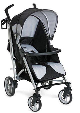 Carrinho de Bebê Tatus (até 15 kg) - Preto - Dzieco