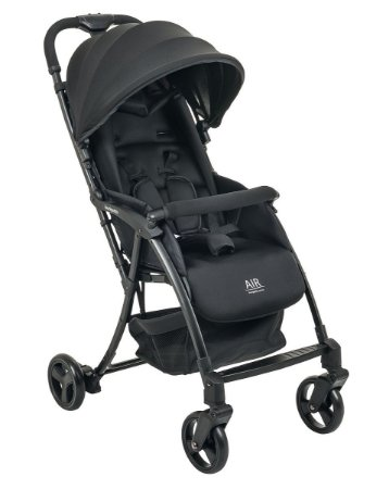 Carrinho de Bebê Air (até 15 kg) - Preto - Burigotto